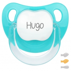 Baby Customizable Pacifier Turquoise