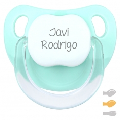 Baby Customizable Pacifier Green Apple