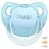 Baby Customizable Pacifier Transparent Blue Pastel