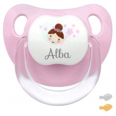 Baby Decorado Hada Rosa Personalizado