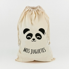 Saco para Juguetes Personalizado Panda