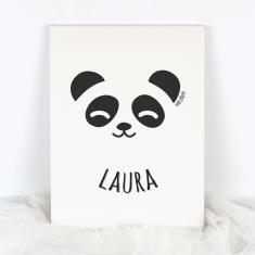 Lienzo Personalizado Panda