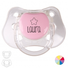 Classic Pacifier Name + Star