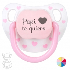 Chupete Baby o Clásico Papi te quiero