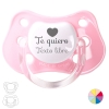 Pacifier I love you + free text