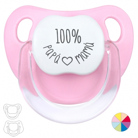 Pacifier 100% Dad Mom