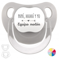 Chupete Divertido Papá, Mamá y Yo, Equipo Molón