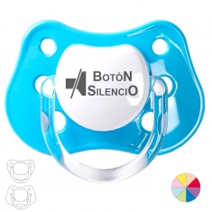 Silence Button Pacifier
