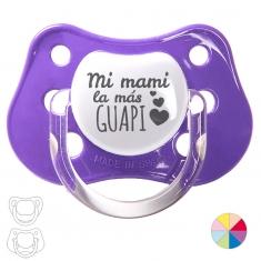 Chupete Baby o Clásico Mi Mami la más guapi