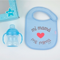 Bag Breadbasket Plastified Basic Personalized