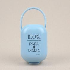Cajita Portachupetes 100% Papá-Mamá