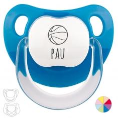 Chupete Personalizado Nombre + Basket