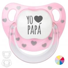 Chupete Baby o Clásico Yo corazón Papá