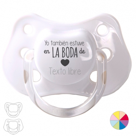 Pacifier I love you free text
