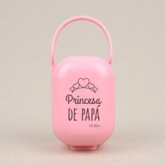 Cajita Portachupetes Princesa de Papá