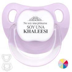 Chupete Baby o Clásico No soy una Princesa Soy una Khaleesi