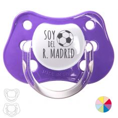 "Pacifier ""I'm from the R. Madrid"""