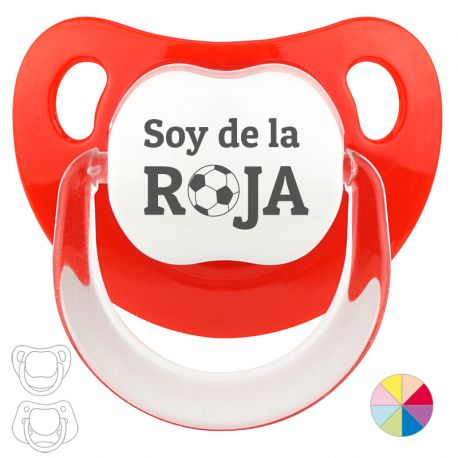 """Pacifier """"I'm from the Roja"""" (Ball)"""