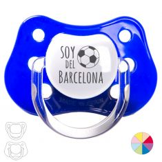 "Pacifier ""I'm from Barcelona"""