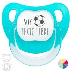 Chupete Divertido Soy (equipo fútbol) + balón