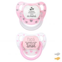 Pack Twin Baby Chic Rosa Divertido