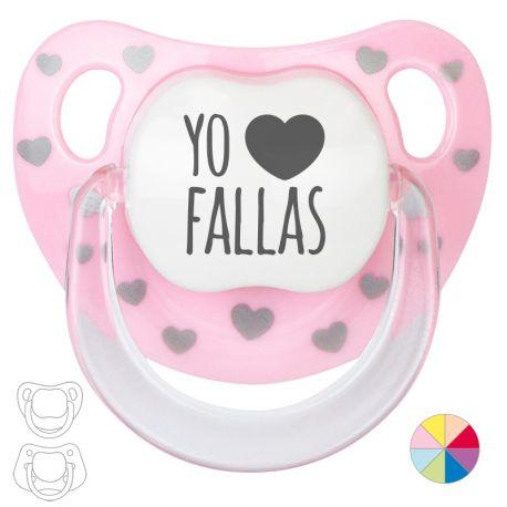 "Pacifier ""I want Fallas!"""