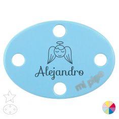 Broche Pinza Nombre + Angelito