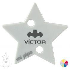 Broche Pinza Nombre + Batman