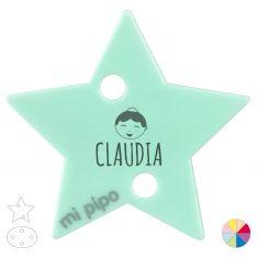 Broche Pinza Personalizado nombre + Festera Magdalena