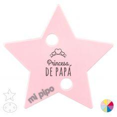 Broche Pinza Princesa de Papá