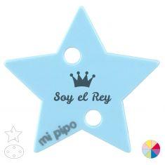 Broche Pinza Soy el Rey