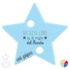 Broche Pinza Mi (texto libre) es el mejor del Mundo