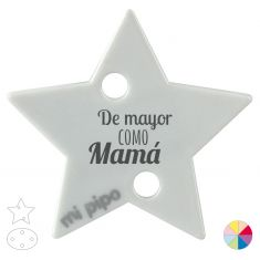 Broche Pinza De mayor como Mamá