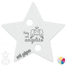 Broche Pinza Soy un Angelito