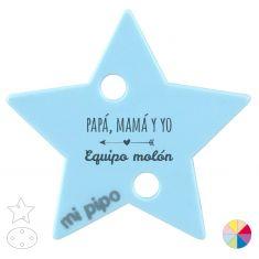 Broche Pinza Papá, Mamá y Yo, Equipo Molón