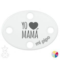 Broche Pinza Yo corazón Mamá