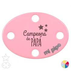 Broche Pinza Campeona de Papá