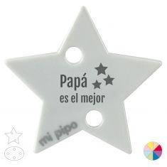 Broche Pinza Papá es el mejor