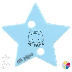 Broche Pinza Mi Héroe mi Papá