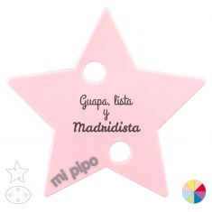 Broche Pinza Guapa, lista y Madridista