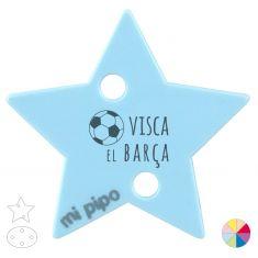 Broche Pinza Visca el Barça