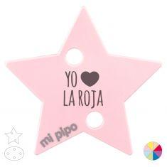 Broche Pinza Yo (corazón) La Roja