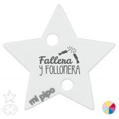 Broche Pinza Fallera y follonera