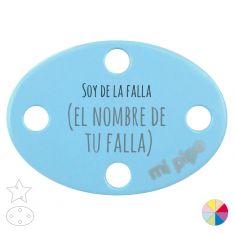 Broche Pinza Soy de la Falla (el nombre de tu falla)