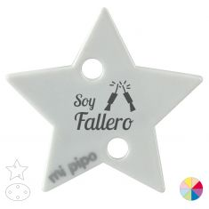 Broche Pinza Soy Fallero petardos