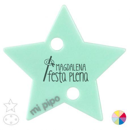 Broche Pinza Magdalena Festa plena caña y rollo