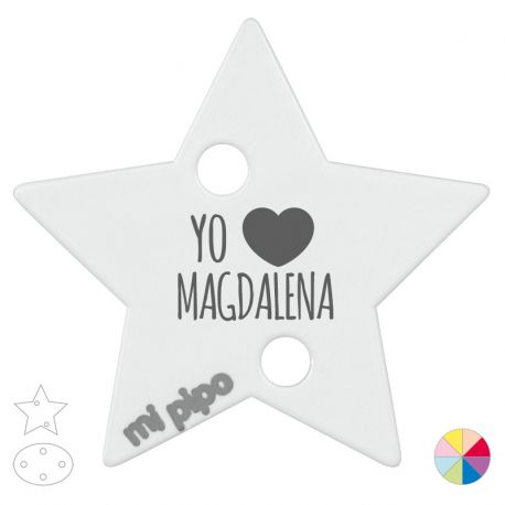 Broche Pinza Yo corazón Magdalena