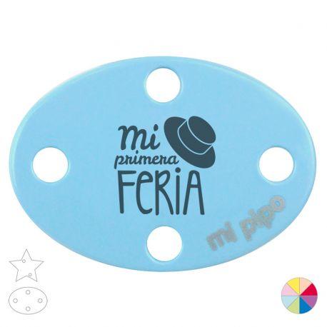 Broche Pinza Mi primera Feria sombrero