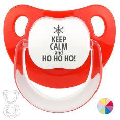 Chupete Baby o Clásico Navideño Keep calm and Ho Ho Ho!