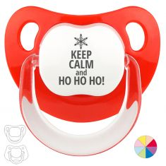 Chupete Navideño Keep calm and Ho Ho Ho!